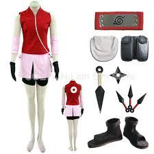 Halloween Costumes Naruto Cheap Sakura Halloween Costumes Aliexpress