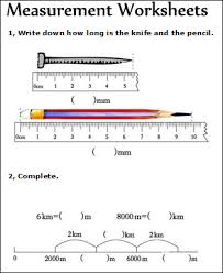 measurement worksheets measuring math worksheets for kids