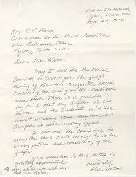 Writing A Legal Letter Of Complaint by U S V Texas Exhibit William Wayne Justice Papers Tarlton