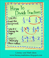 how to divide fractions just make sure you explain how dividing