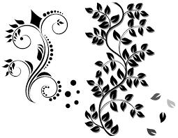 floral ornament vector free 123freevectors