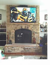 fireplace stone work valley forge builders project description