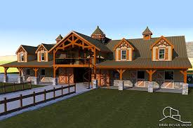 horse barn with living quarters floor plans horse barn with living quarters floor plans dmax design group