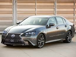 lexus gs 200t 2016 lexus gs facelift rendered with new led headlights