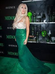 Blonde Wig Halloween Costume Leaf Kylie U0027s Book Kim Rocked Platinum Blonde