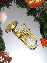 gold tuba musical instrument ornament new home