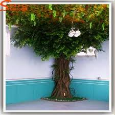 source sale artificial big banyan tree for decoration on m