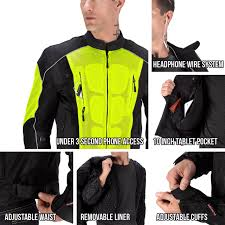 green motorcycle jacket vikingcycle warlock mesh motorcycle jacket for men motorcycle