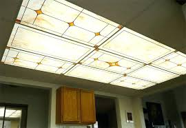 Kitchen Fluorescent Ceiling Light Covers Breathtaking Kitchen Fluorescent Light Covers Large Image For