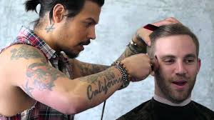 daniel alfonso hair salon la the justin timberlake haircut featuring fitness model mark sauer