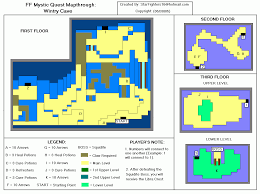 Final Fantasy 2 World Map by Game Help