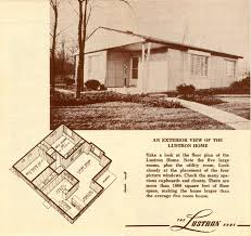 Sears Homes Floor Plans by Lustrons Of Durham Open Durham