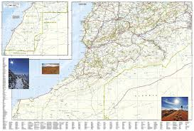 Fedex Delivery Routes Map by Morocco National Geographic Adventure Map National Geographic