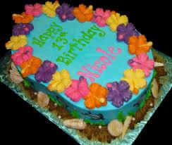 Luau Cake Decorations All Cakes Sugar Showcase