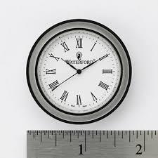 clock face insert medium round roman numerals waterford us
