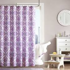 lavender bathroom ideas nice oval tub and sweet purple shower curtain for amazing bathroom