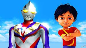 waptrick film kartun anak shiva antv upin ipin gaia vs ultraman tiga super animasi cartoon