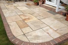 patio u0026 pergola awesome patio slabs stone patio ideas rundle