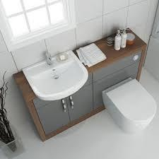 Basin And Toilet Vanity Unit Fitted Bathroom Furniture Bathroom City