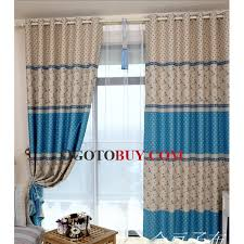 Curtains Printed Designs Printed Best Designer Chic Blackout Living Room Blue Curtains Buy