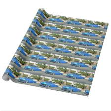 classic car wrapping paper zazzle