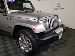 used jeep rubicon 2014 used jeep wrangler 4wd 2dr sahara at honda of danbury serving