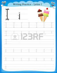 writing practice letter s printable worksheet woth clip art
