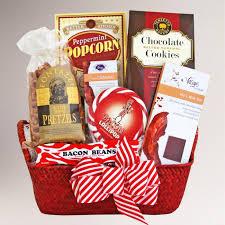 bacon gift basket awaken to bacon gift basket world market