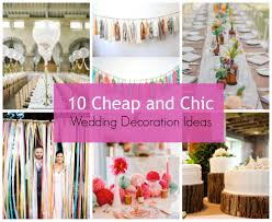 stylehunter collective 10 cheap and chic wedding decoration ideas