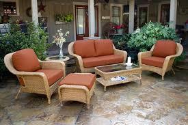 tortuga outdoor lexington wicker 6 piece deep seating loveseat set