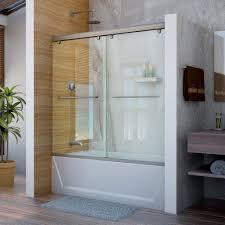 Shower Bath Doors Sliding Bathtub Doors Lowes Frameless Hinged Tub Door Shower For