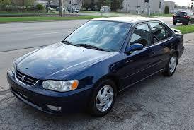toyota corolla 2001 s 2001 toyota corolla s sedan 4d