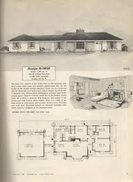 Vintage Floor Plans Ranch Style Houses Floor Plans As Well 50s Ranch Floor Plans In