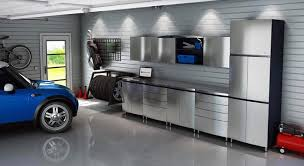 Garage Ceiling Light Fixtures Modern Garage With Ceiling Lights And Modern Cabinets Good