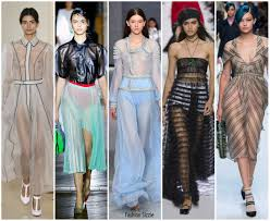 Fashion Sizzlers Archives Fashionsizzle by Spring 2018 Runway Fashion Trend Sheer Fashionsizzle