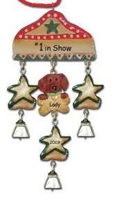dachshund dog personalized christmas ornaments