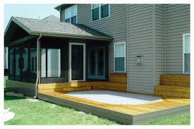 Shed Roof Screened Porch Decks Unlimited Screened Porches U0026 Sheds