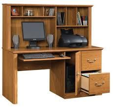 sauder orchard computer desk with hutch carolina oak buy sauder orchard computer desk with hutch carolina oak at