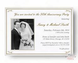 invitation anniversaire mariage 50e anniversaire invitation 50e anniversaire invitation