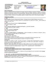 Resume Espanol 100 Resume En Espanol Curriculum Vitae Wikipedia Sweet
