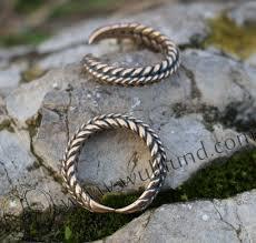 braided ring viking braided ring bronze wulflund