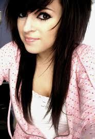 medium length scene hairstyles long length emo hairstyles for emo girls long length emo