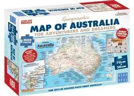 usa map jigsaw puzzle by hamilton grovely 2 blue opal jigsaw puzzle map of australia 1000 pc