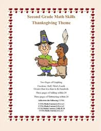 second grade practice thanksgiving themed math worksheets that