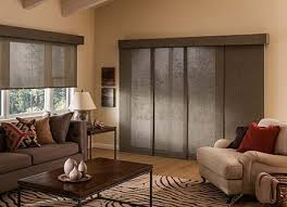 sliding glass doors shades roller shades can be a new windw treatment idea for sliding glass