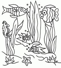 17 learning underwater friends coloring pages ocean