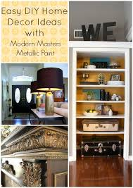 Diy Home Decorating Projects Easy Diy Home Decor Projects With Metallic Paint Hometalk