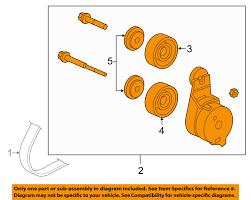 lexus is 350 idler pulley honda oem belt tensioner 04317rca305