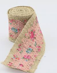 duane loyd design mix burlap jute rolls with fabric ribbon s