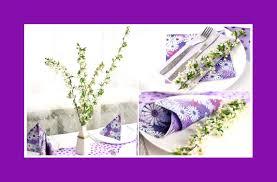 napkins u0026 flower decoration at home